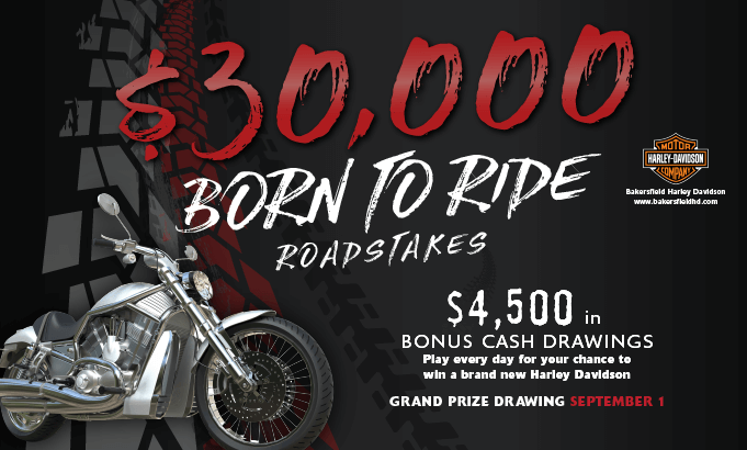 $30K Born to Ride Roadstakes