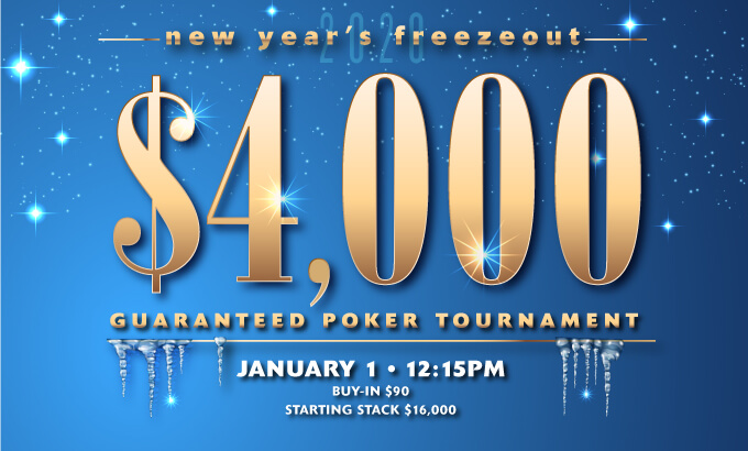 $4,000K New Years Freezeout