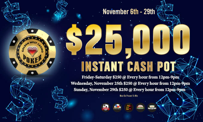 $25,000 Instant Cash Pot
